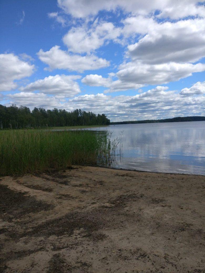Bada i Fegensjön