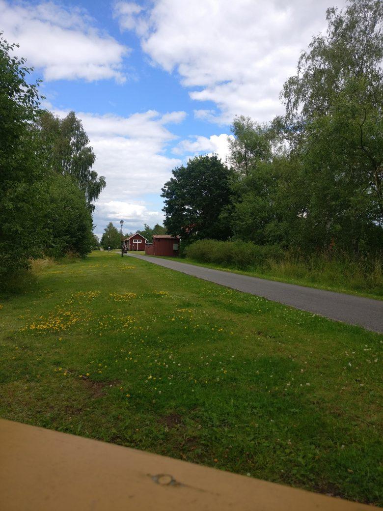 Gamla banvallen mellan Ulricehamn och Falköping, utgör numera Ätradalsleden